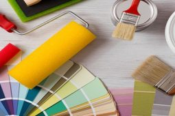 our painting and decorating service