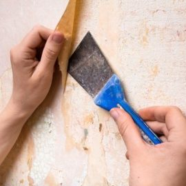 How to Strip Wallpaper and Prepare Internal Walls