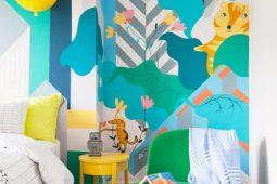 contemporary childrens room design